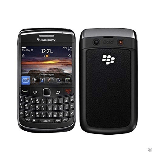 Black Barry Bold 3 9780